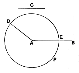 [Diagram for Elements, book 1, proposition 3]