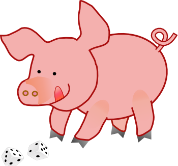 [Illustration of a pig]