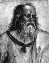 Plato, as depicted by Raphael