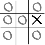 Second player's drawing moves when the first player chooses a side square